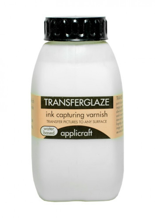 Applicraft : Transferglaze Ink Capturing Varnish Transfer : Water Based : 100 ml