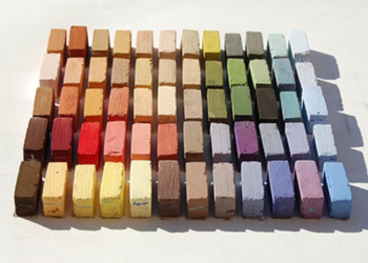 Terry Ludwig : Soft Pastel Set : 60 Arid Landscape