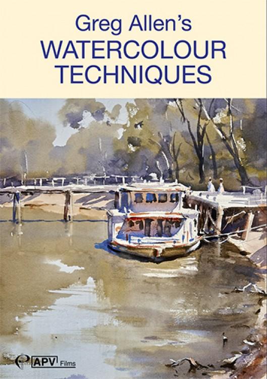 DVD : Greg Allens Watercolour Techniques