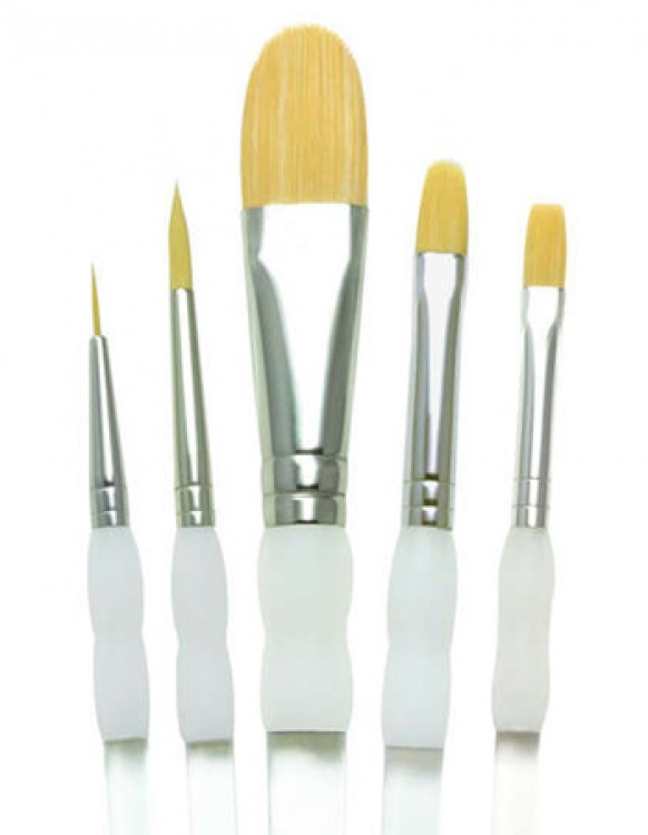 Royal Brush : Soft Grip Brush Set - Starter