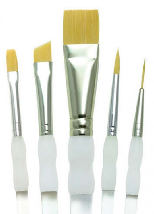 Royal Brush : Soft Grip Brush Set - Beginners