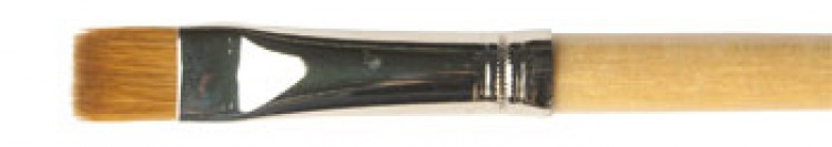 Handover : Pure Sable Brights Oil Colour Brush Long Handle : # 14