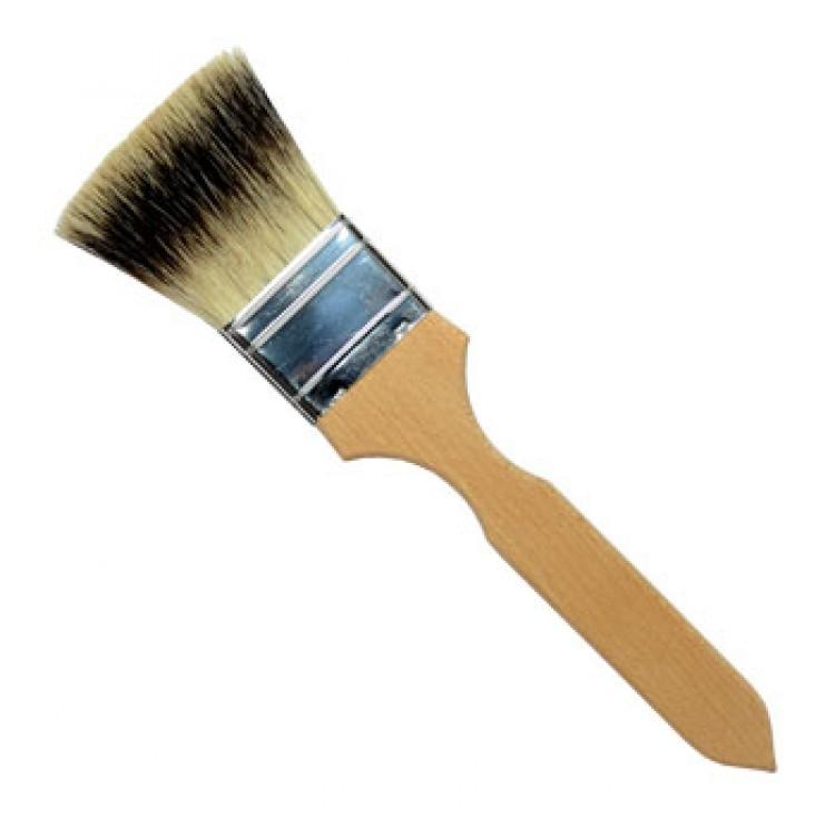 Handover : Thin Flat Badger Hair Brush : 2 in
