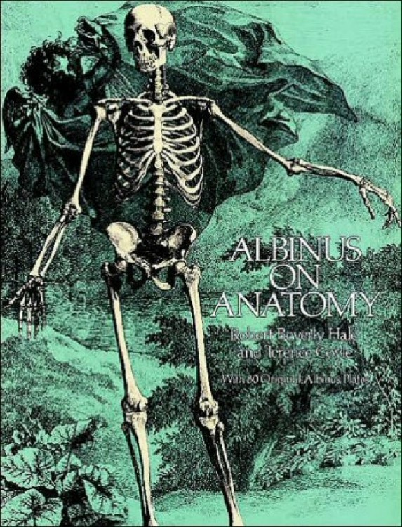 Albinus on Anatomy : Book by Hale and Coyle a classic text in black and white