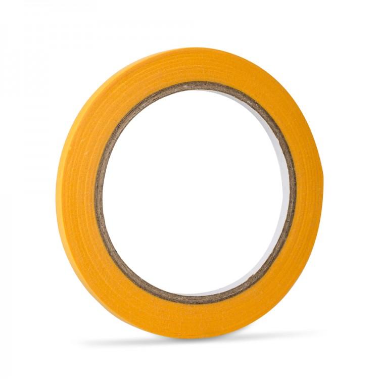 Handover : Yellow Low Tack Lining Tape: 1/4 6mm x 40 metres