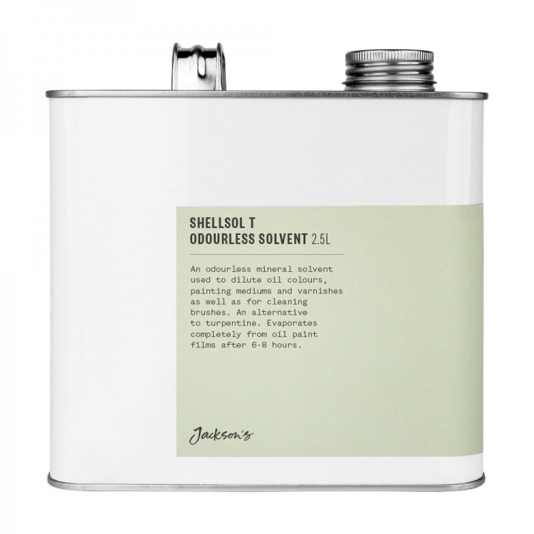 Jacksons : Shellsol T : Odourless Solvent : 2500ml : By Road Parcel Only