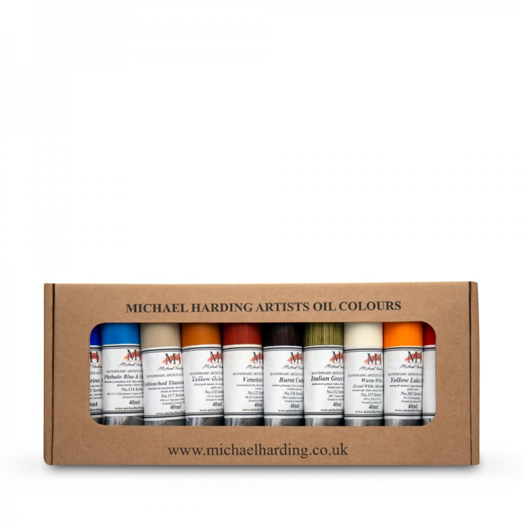 Michael Harding Oil Paint Desert Set 10x40ml
