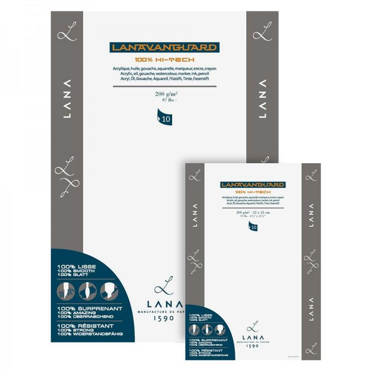 Lana : Vanguard Paper : 200 gsm (Similar to Yupo)