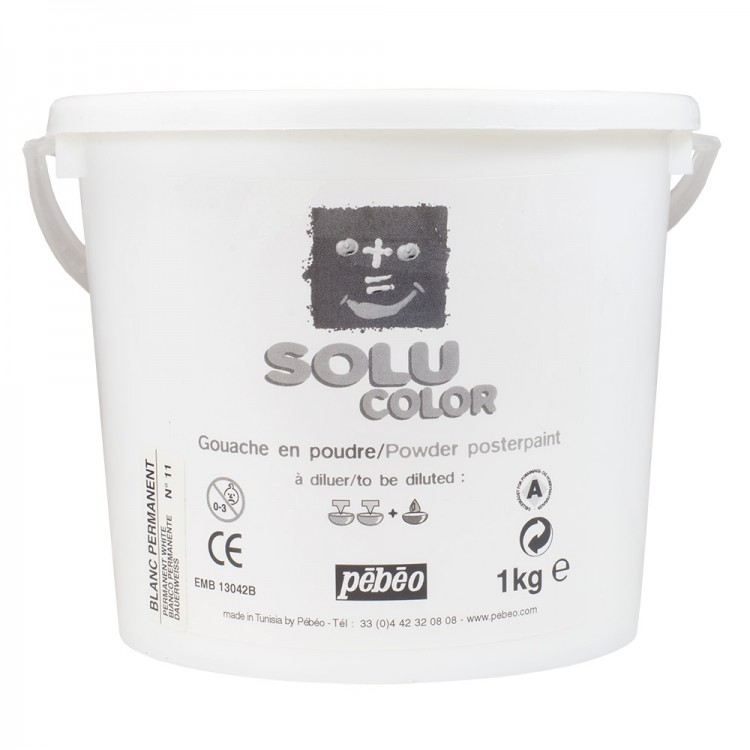 Pebeo : Solucolor Powder Poster Paint 1 kg