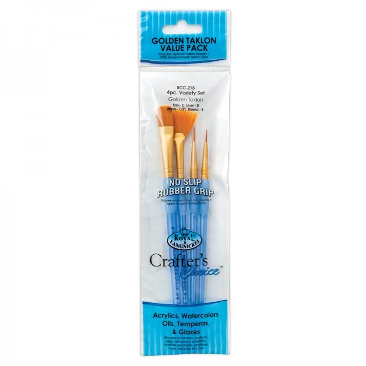 Royal Brush : Golden Taklon Brush Sets
