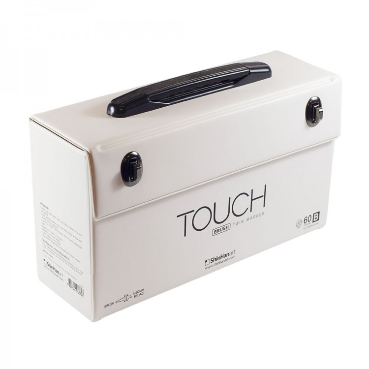 ShinHan : Touch Twin BRUSH Marker Pens : Empty Cases