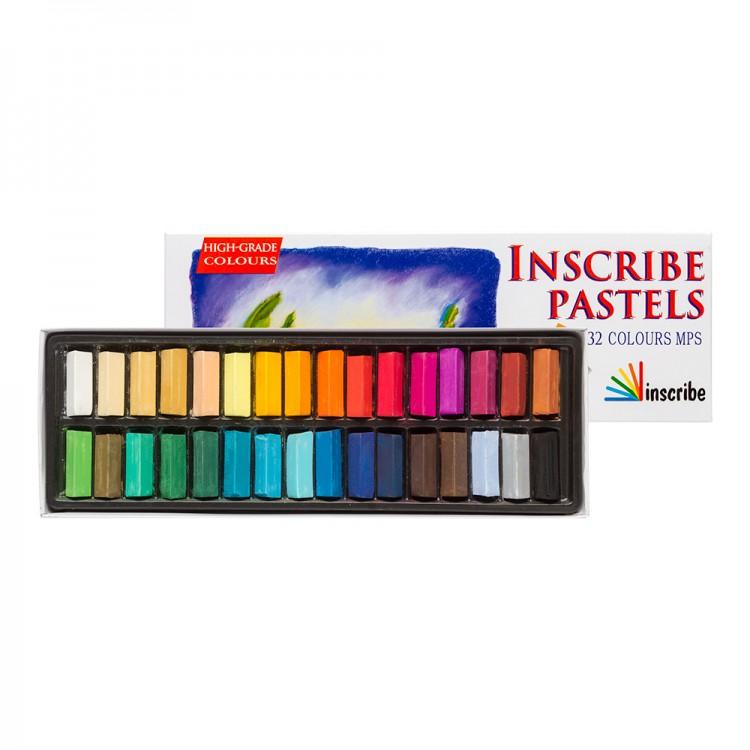 Inscribe : Soft Pastel Set : 32 Half Sticks