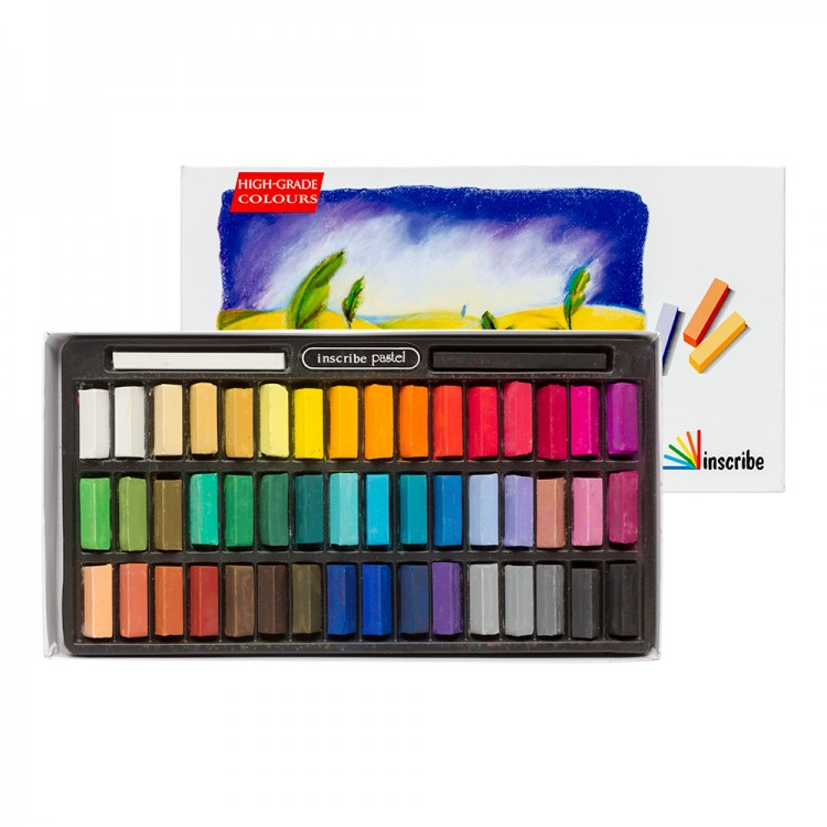 Inscribe : Soft Pastel Set : 48 Half Sticks