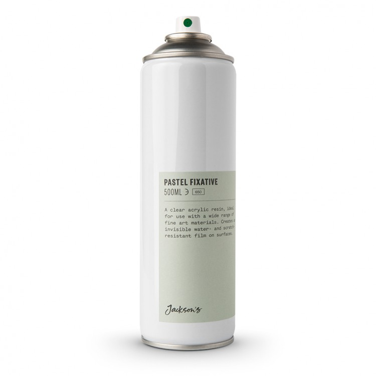 Jacksons : Pastel Fixative : 500ml : By Road Parcel Only