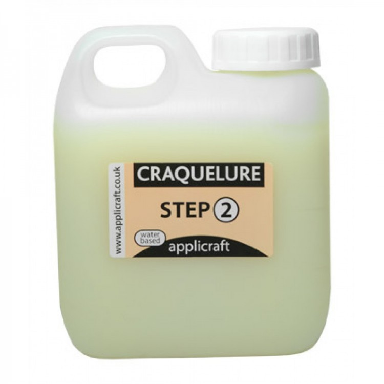 Applicraft : Craquelure Top Coat : Water Based : 100 ml