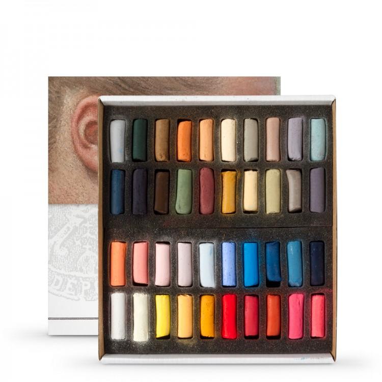 Sennelier : Soft Pastel : Half Stick Set of 40 : Portrait