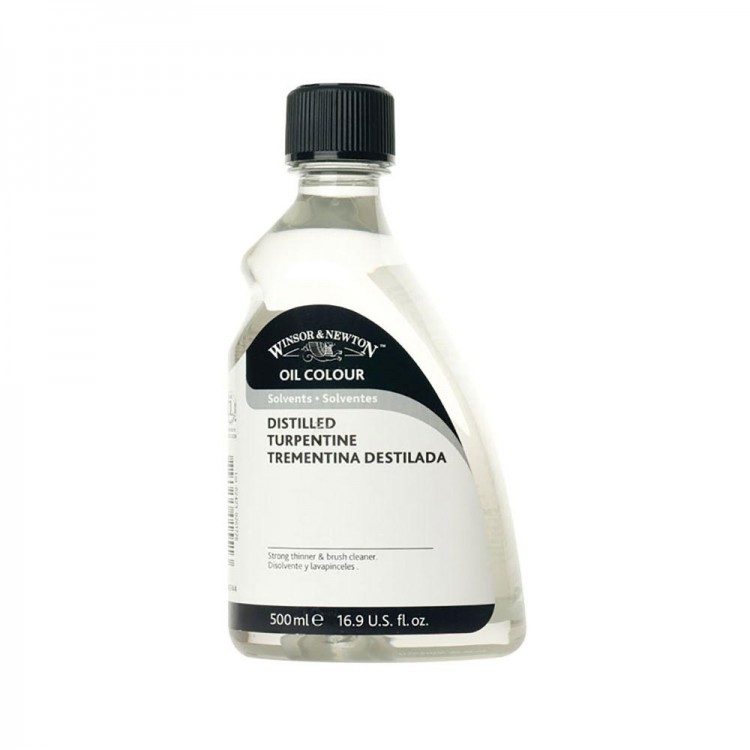 Winsor & Newton : English Distilled Turpentine *Haz*