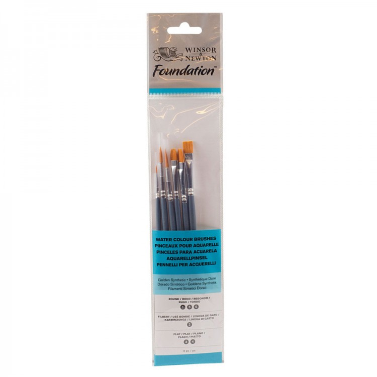 Winsor & Newton : Foundation Watercolour Brush Sets