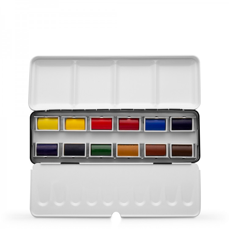 Jackson's : Artist Watercolour Paint : Full Pan : Set of 12