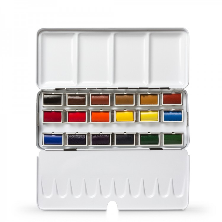 Jackson's : Artist Watercolour Paint : Full Pan : Set of 18