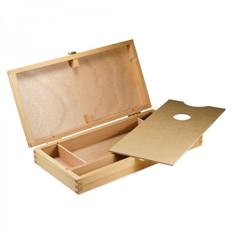 Wooden Utility Storage Box : Beech