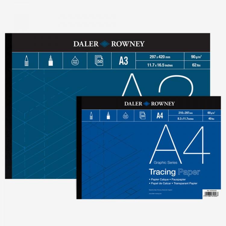 Daler Rowney : Tracing Paper : Gummed Pads