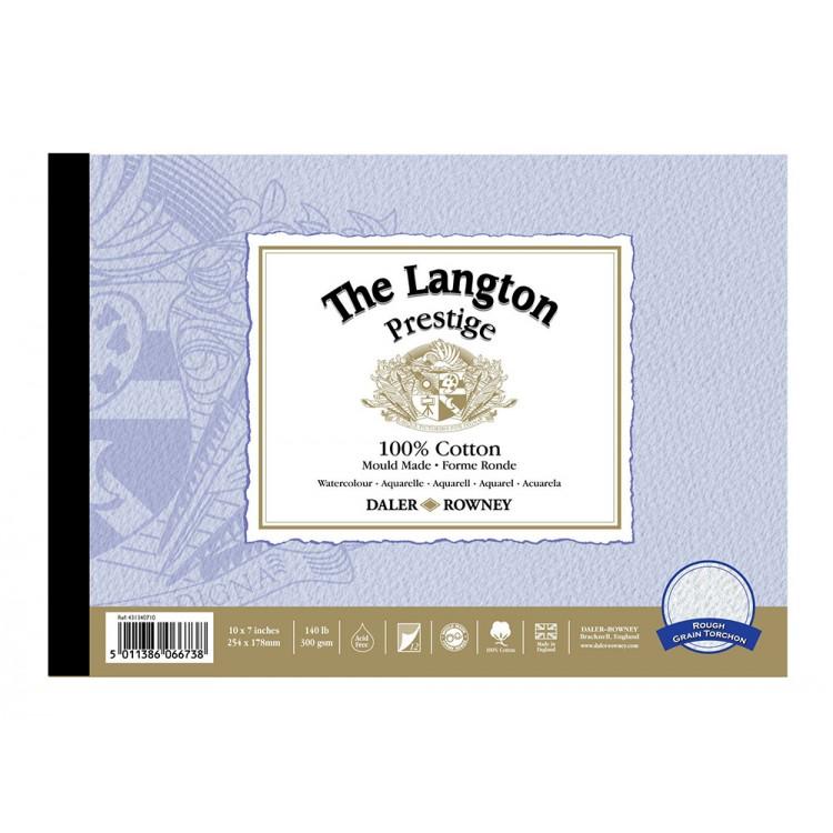Daler Rowney : Langton Watercolour Paper : Blocks and Pads : 12 Sheets