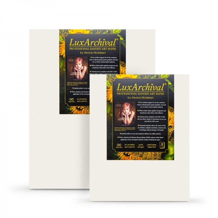 LuxArchival : Professional Sanded Art Paper : 400 Grit