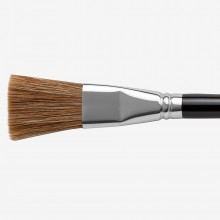 HANDOVER : OX HAIR MIXTURE ONE STROKE LETTERING BRUSH : 7/8 IN