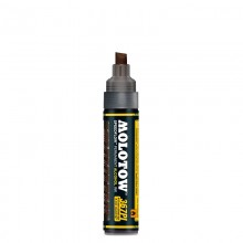 Molotow : Masterpiece 367PI Speedflow Marker : 4-8mm : Copper Black