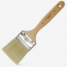 Handover : Lily Bristle : Varnish Brush : Thin : No. 30 : 62.60mm