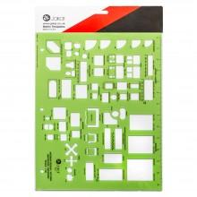 Jakar : Interior Design/Kitchen, Bathroom and Bedroom Template (1:50)