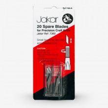 Jakar : 2 tubes of 10 spare blades for 7360 : blistercarded