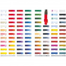Ara Acrylic Printed Colour Chart