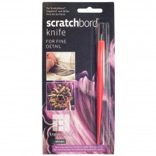Ampersand : Scratchbord Scratch Knives