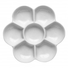 Jackson's : Ceramic Palette : Daisy 7 well 5 in. diameter