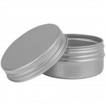 Studio Essentials : Empty Aluminium Screw Top Jar : 75ml
