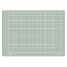 Jackson's : A4 Grey Cutting Mat : Double Sided CM & Inch Grid : 22x30cm : 8.66x11.81in
