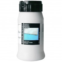Daler Rowney : Acrylic Medium : Gesso Primer : 500ml : White