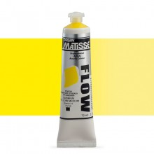 Derivan : Matisse Flow : Acrylic Paint : 75ml : Cadmium Yellow Medium