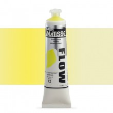 Derivan : Matisse Flow : Acrylic Paint : 75ml : Yellow Light Hansa
