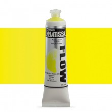 Derivan : Matisse Flow : Acrylic Paint : 75ml : Bismuth Yellow