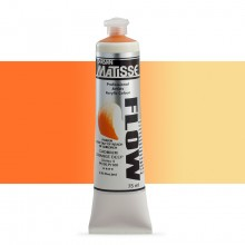 Derivan : Matisse Flow : Acrylic Paint : 75ml : Cadmium Orange Deep