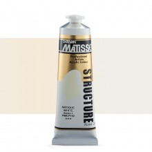 Derivan : Matisse Structure : Acrylic Paint : 75ml : Antique White