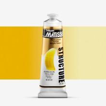 Derivan : Matisse Structure : Acrylic Paint : 75ml : Aureolin Yellow