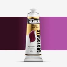 Derivan : Matisse Structure : Acrylic Paint : 75ml : Burgundy