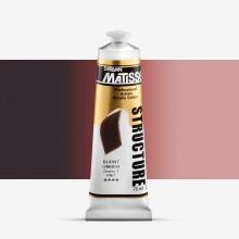 Derivan : Matisse Structure : Acrylic Paint : 75ml : Burnt Umber