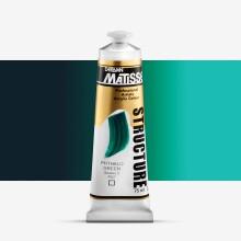 Derivan : Matisse Structure : Acrylic Paint : 75ml : Phthalocyanine Green
