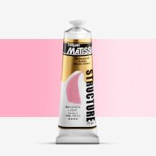 Derivan : Matisse Structure : Acrylic Paint : 75ml : Magenta Light