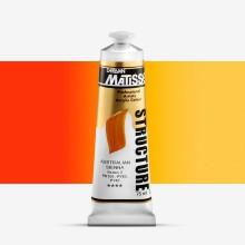 Derivan : Matisse Structure : Acrylic Paint : 75ml : Australian Sienna